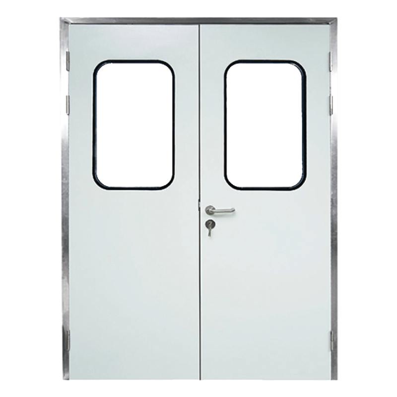 Aluminum frame double door