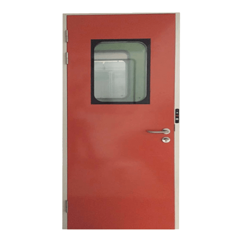 Medical laminated steel door