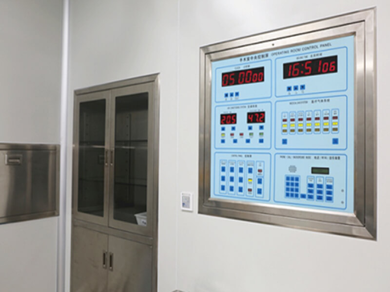 Control panel Instrument cupboard