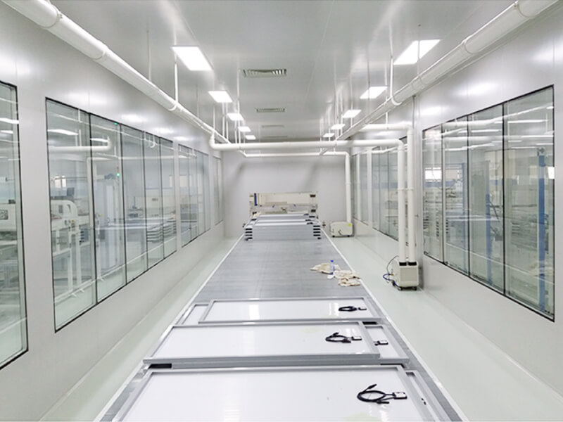 CLEAN ROOM FOR SEMI-CONDUCTOR INDUSTRY APPLICATION